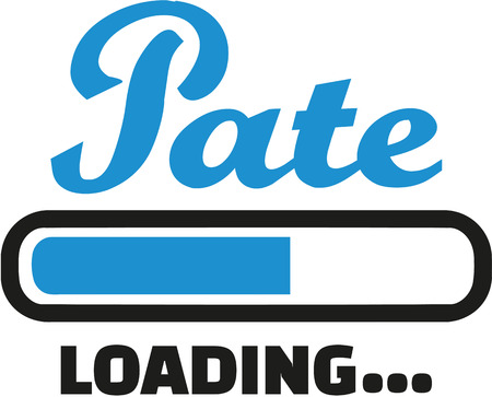 godfather: Godparents loading bar Illustration