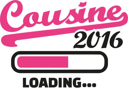 cousin: Cousine 2016 loading bar