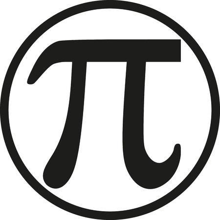 pi: Pi with circle