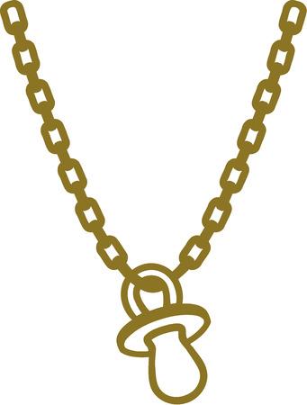 dummy: Golden chain with dummy
