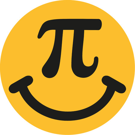 pi: Smiley with pi sign