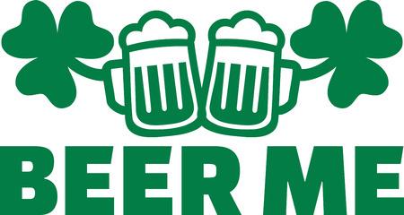 irish beer: Irish drinking design - Beer me