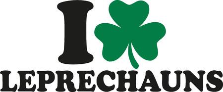leprechauns: I love leprechauns with clover