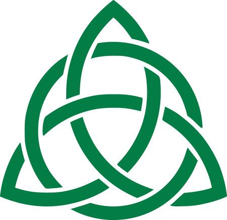 celtic: Green celtic knot