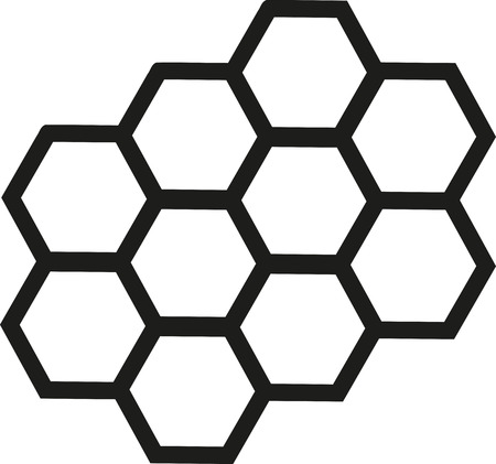 nectars: Honeycomb outline