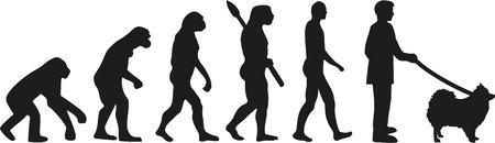 homo sapiens: Pomeranian evolution Illustration