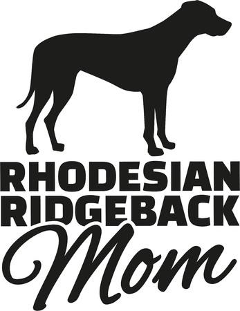 rhodesian: Rhodesian ridgeback Mom