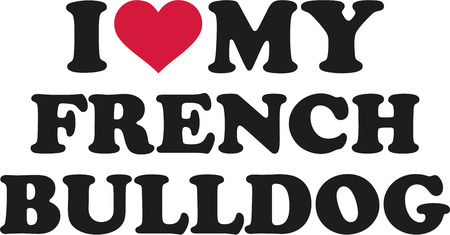 Yo amo a mi bulldog francés