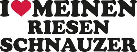 schnauzer: I love my Giant Schnauzer german