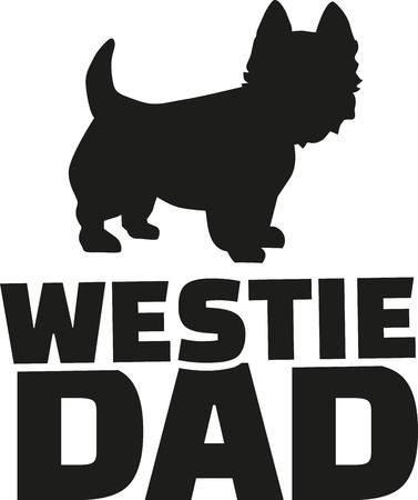 highland: West Highland Terrier dad