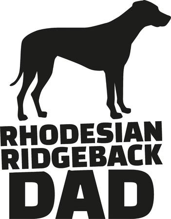 ridgeback: Rhodesian ridgeback dad