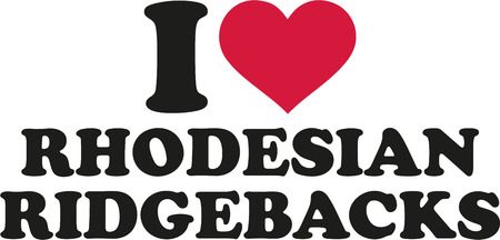 ridgebacks: I love Rhodesian ridgebacks