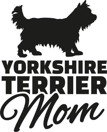 yorkshire terrier: Yorkshire Terrier Mom