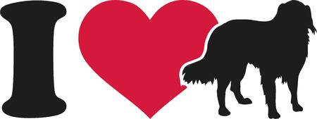 australian shepherd: I love Australian Shepherd silhouette