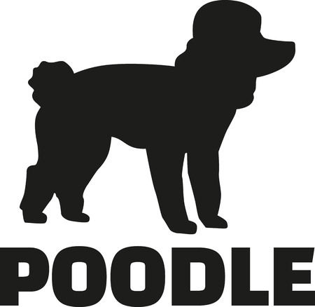 standards: Poodle with breed name