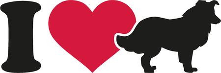 collie: I love collie icon