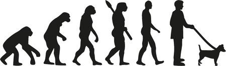 Jack Russell Terrier évolution Vecteurs