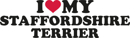 stafford: I love my Staffordshire Terrier