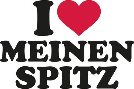spitz: I love my Pomeranian german