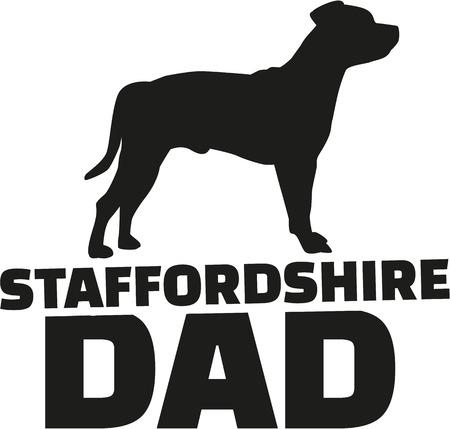 stafford: Staffordshire Bull Terrier dad