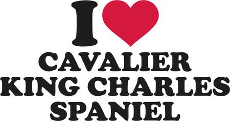 cavalier: I love cavalier king charles spaniel