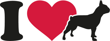 frenchie: I love French bulldog icon