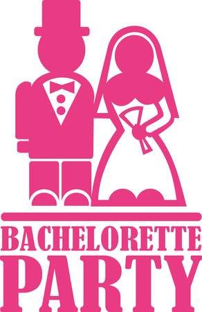 engagement party: Bachelorette party Illustration