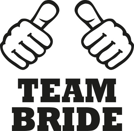 bachelorette: Team Bride with two thumbs