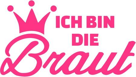 i am: I am the bride - german