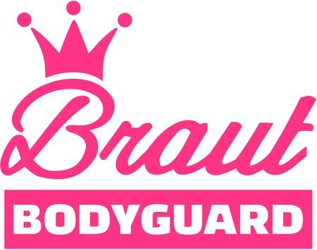 bodyguard: Bride bodyguard - german