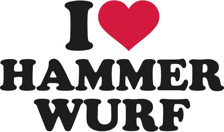 hammer throw: I love hammer throw german