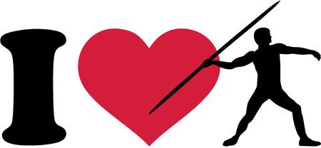 javelin: I love javelin thrower