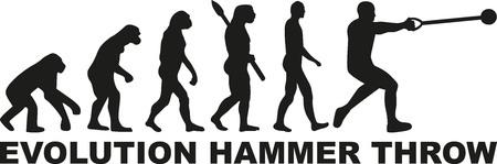 hammer throw: Evolution hammer throw