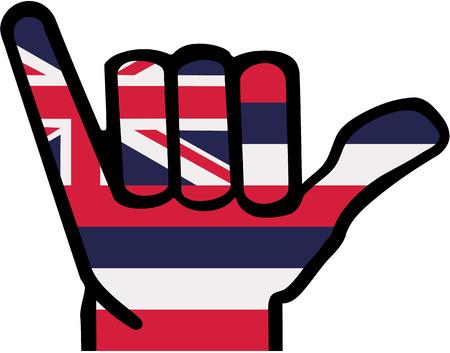 Shaka hand Hawaii