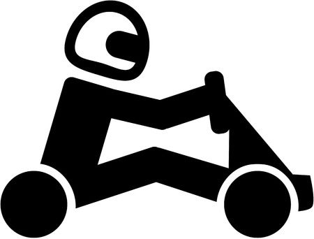 Karting pictogram