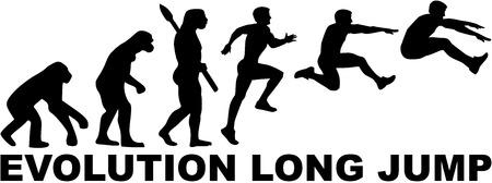homo sapiens: Long Jump evolution