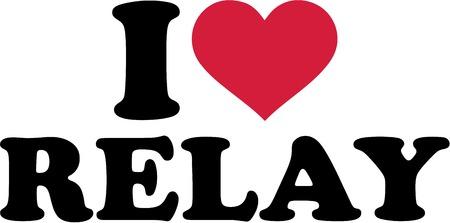 carrera de relevos: Me encanta Relay