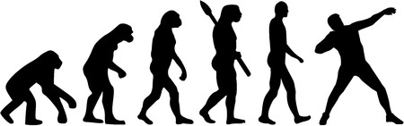 put: Shot put evolution