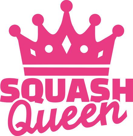 squash: Squash queen Illustration
