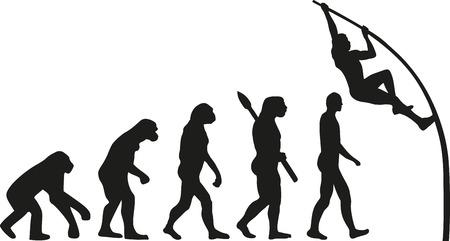 pole vault: Pole vault evolution
