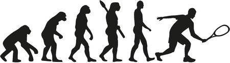 스쿼시 진화