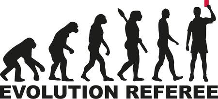 arbitro: evolución del árbitro Vectores