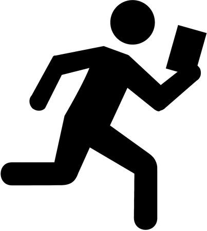 orienteering: Orienteering pictogram