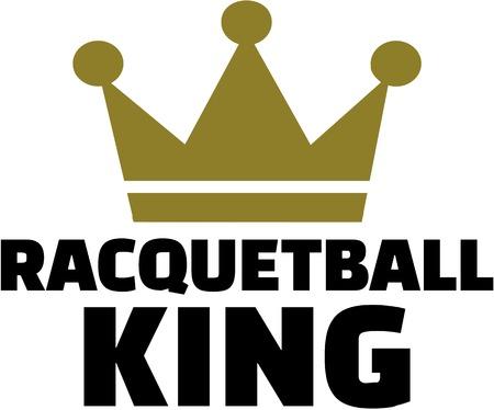 racquetball: Racquetball rey con la corona