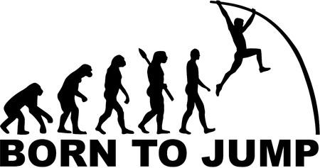 jumping monkeys: Pole vault evolution Born to jump