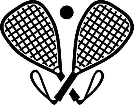 racquetball: palos cruzados racquetball