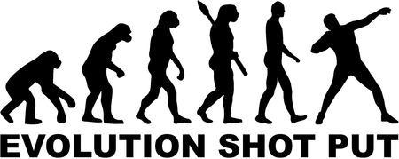 put: Evolution Shot put