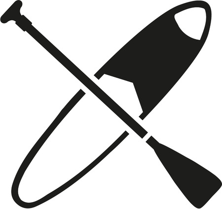 stand up: Stand up paddling board and paddle