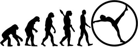 ancestors: Rh�nrad evolution Illustration