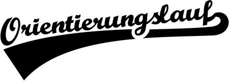 orienteering: Orienteering word german